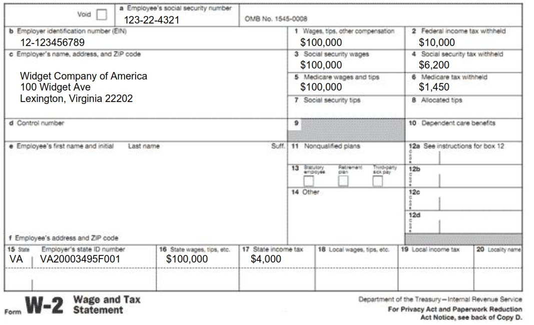 w2 form washington state  Understanding Tax Season: Form W-13 - Remote Financial Planner
